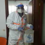 El Área Sanitaria Norte de Córdoba comienza los test rápidos en las residencias de sus comarcas