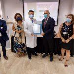 La unidad de Laboratorios del Área de Gestión Sanitaria Norte de Córdoba recibe la certificación de la Agencia de Calidad Sanitaria de Andalucía