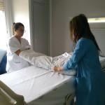 El Hospital acoge a alumnos en prácticas de Auxiliar de Enfermería y Laboratorio