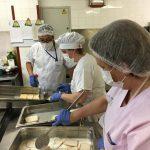 El Hospital Valle de los Pedroches ofrece un menú especial de Semana Santa para los pacientes ingresados