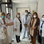 La primera resonancia del Hospital Valle de los Pedroches inicia hoy su actividad en el centro hospitalario